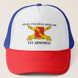 第4大隊の第27野戦砲兵の第1装甲帽子 キャップ