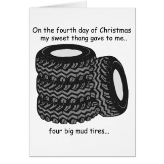 第4日のレッドネックのクリスマス カード