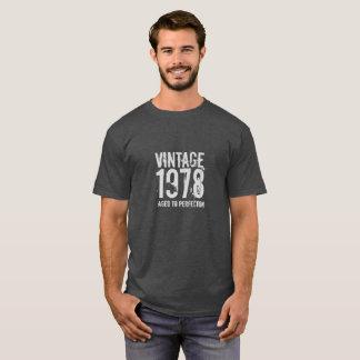 第40完全さに老化する誕生日のヴィンテージ1978 Tシャツ