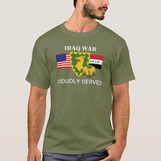 第40憲兵のBN.のイラク戦争のTシャツ Tシャツ