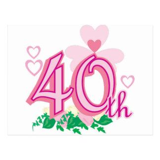 第40記念日 ポストカード