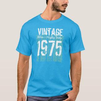 第40誕生日プレゼントのヴィンテージ1975のベスト年2 Tシャツ