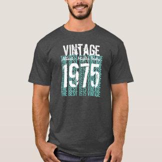 第40誕生日プレゼントのヴィンテージ1975のベスト年3 Tシャツ
