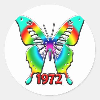 第40誕生日プレゼント1972年 ラウンドシール