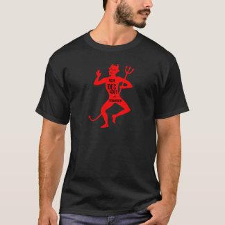 第40誕生日-道楽の4十年-悪魔 Tシャツ