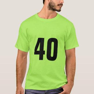 第40 Tシャツ