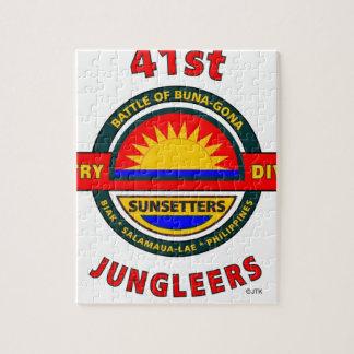 """第41歩兵部隊""""JUNGLEERS """" ジグソーパズル"""