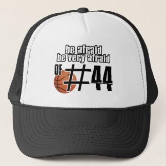 第44バスケットボールのデザイン キャップ