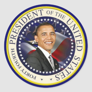 第44米国大統領 ラウンドシール