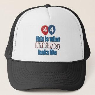 第44誕生日のデザイン キャップ