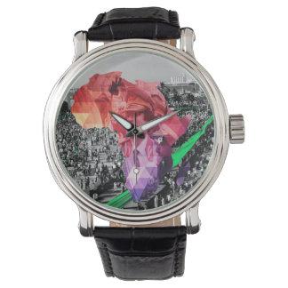 第44 -アフリカ連合/緑の流れ-腕時計 腕時計