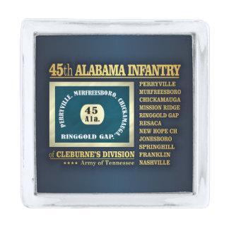 第45アラバマの歩兵(BA2) 銀色 ラペルピン