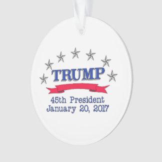 第45大統領を切札で取って下さい オーナメント