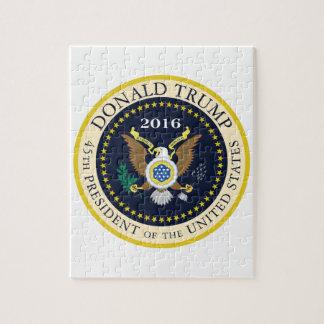 第45米国大統領 ジグソーパズル