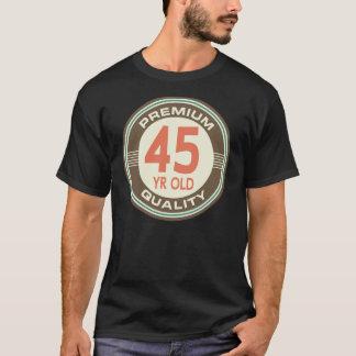 第45誕生日のおもしろいなヴィンテージの45歳 Tシャツ