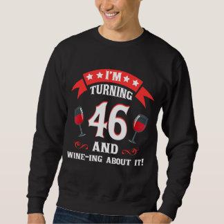 第46ワイン愛好家のための誕生日プレゼント スウェットシャツ