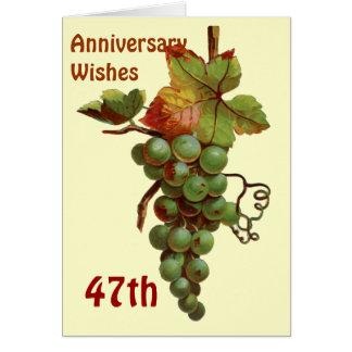第47 customiseable記念日の願い カード