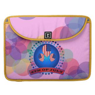 """第4 15"""" 7月Macbookプロの袖のピンク MacBook Proスリーブ"""