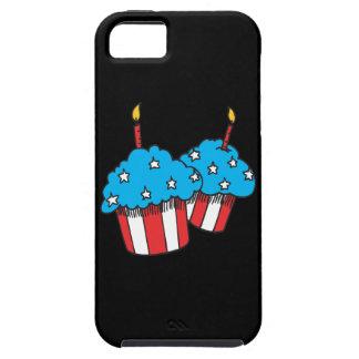 第4 7月のカップケーキの iPhone SE/5/5s ケース