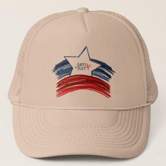 第4 7月のトラック運転手の帽子の人の帽子の キャップ