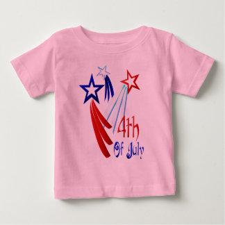 第4 7月のワイシャツの ベビーTシャツ