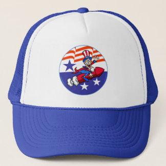 第4 7月の米国市民帽子の キャップ