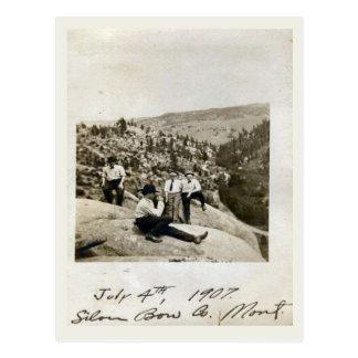 第4 7月1907日の銀製の弓、モンタナ ポストカード
