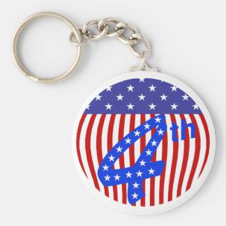 第4 7月Keychainの キーホルダー