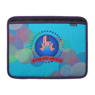 """第4 7月Macbookの空気13""""の横の袖 MacBook スリーブ"""