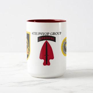 第4 PSYOPのグループのマグ ツートーンマグカップ