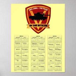 第5タンク大隊ベトナム ポスター