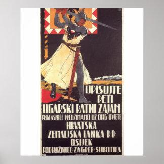 第5ハンガリー戦争のプロパガンダポスター ポスター