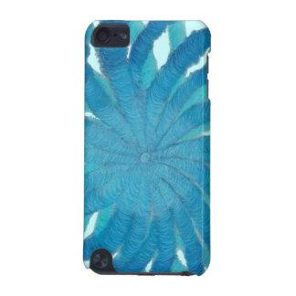 第5喉のチャクラの治療の青いアートワーク#1 iPod TOUCH 5G ケース