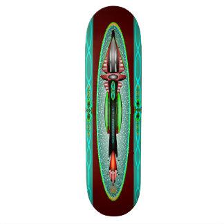 第5次元のロケットのスケートボードのデッキ スケートボード