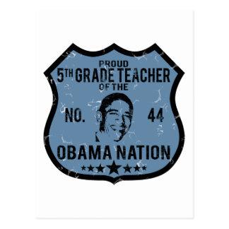 第5等級のオバマの国家 ポストカード