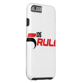 第5規則のフィットネスのiPhoneの場合(堅い) ケース