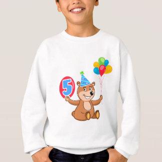 第5誕生日くまのテーマ スウェットシャツ
