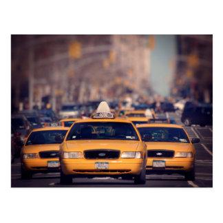 第5道のタクシー ポストカード