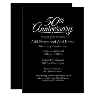 第50名前入りな金結婚記念日 カード