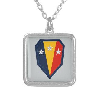 第50歩兵の組の連隊戦闘団 (BCT) シルバープレートネックレス