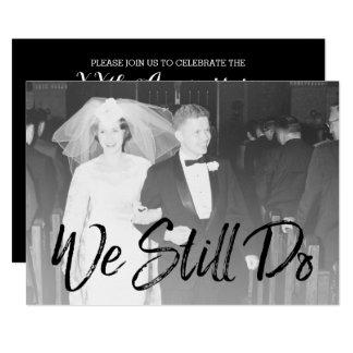 第50結婚記念日および写真-私達はまだ カード