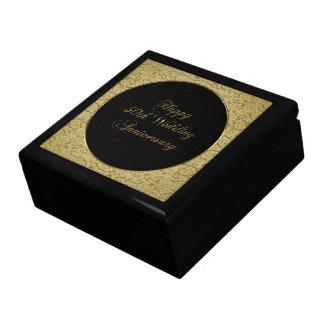 第50結婚記念日のギフト用の箱 ギフトボックス
