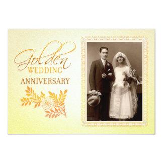 第50結婚記念日の招待状を空想して下さい 12.7 X 17.8 インビテーションカード