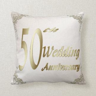 第50結婚記念日の記念品の枕 クッション