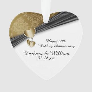 第50結婚記念日の記念品 オーナメント