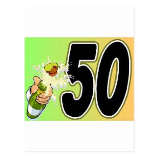 第50誕生会の商品 ポストカード