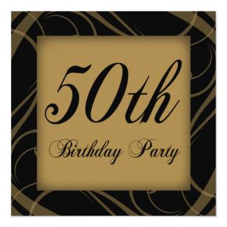 第50誕生会の招待 カード