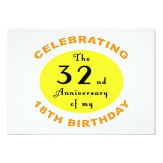 第50誕生日のギャグのギフト カード