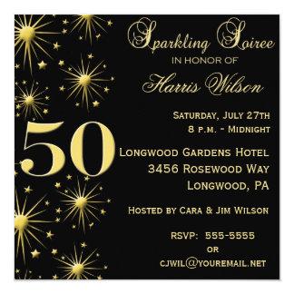 第50誕生日の招待状 カード