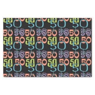 第50誕生日の星 薄葉紙